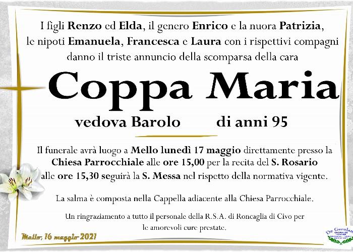 Coppa Maria: Immagine Elenchi