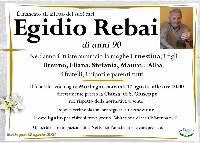 Rebai Egidio: Immagine Elenchi