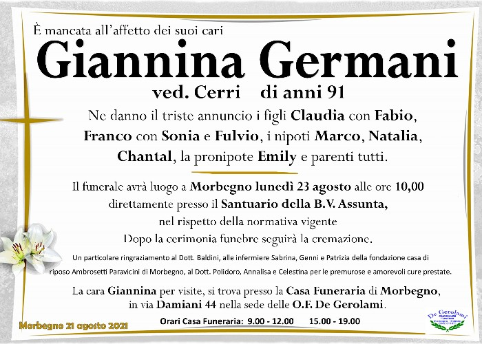 Germani Giannina: Immagine Elenchi