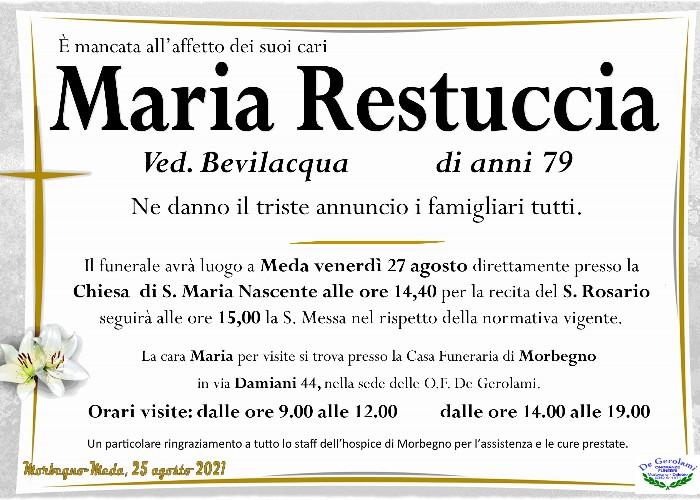 Restuccia Maria: Immagine Elenchi
