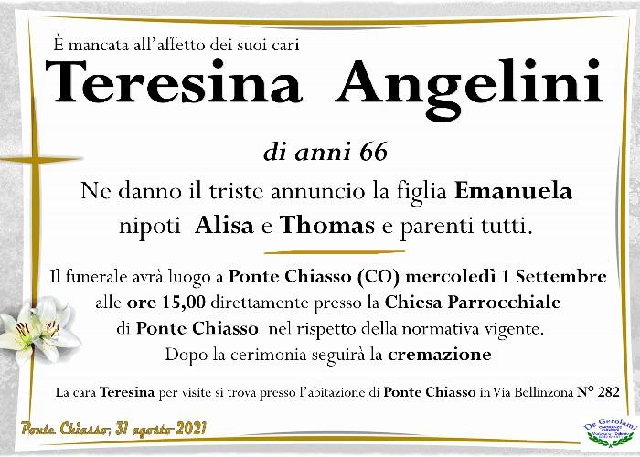 Angelini Teresina: Immagine Elenchi