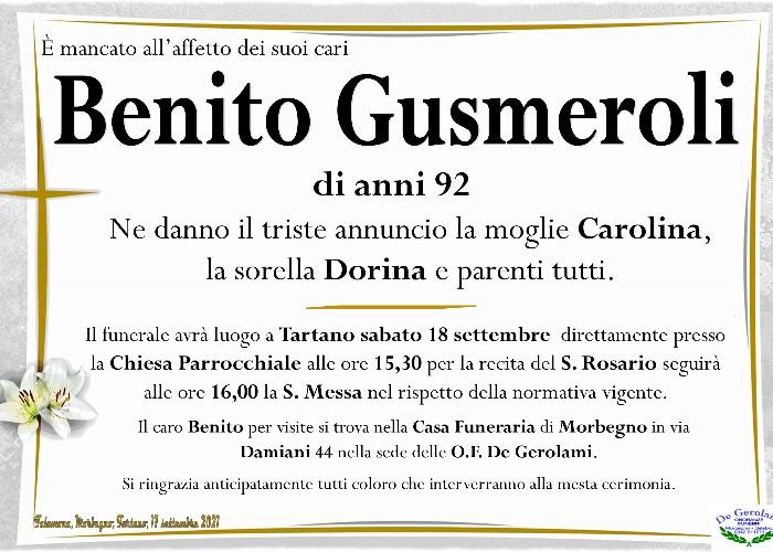 Gusmeroli Benito: Immagine Elenchi