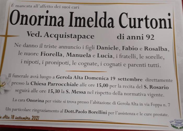 Curtoni Onorina Imelda: Immagine Elenchi