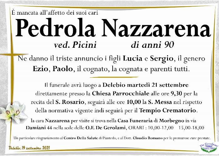 Pedrola Nazzarena Iosia: Immagine Elenchi