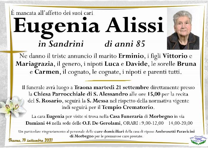 Alissi Eugenia: Immagine Elenchi