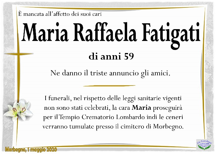Fatigati Maria Raffaela: Immagine Elenchi
