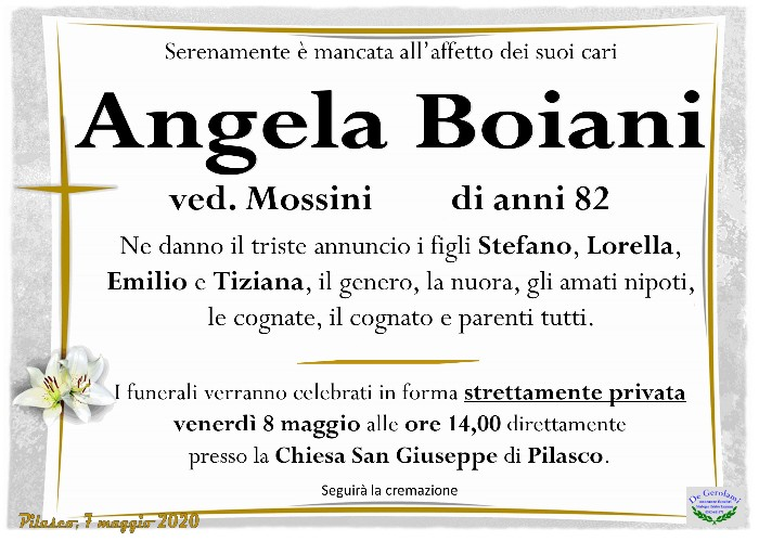 Boiani Angela: Immagine Elenchi