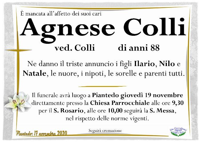 Colli Agnese: Immagine Elenchi