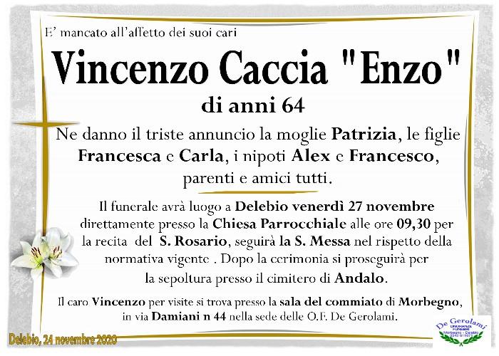 Caccia Vincenzo: Immagine Elenchi