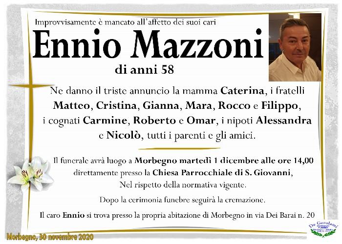 Mazzoni Ennio: Immagine Elenchi