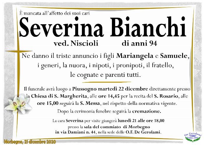 Bianchi Severina: Immagine Elenchi