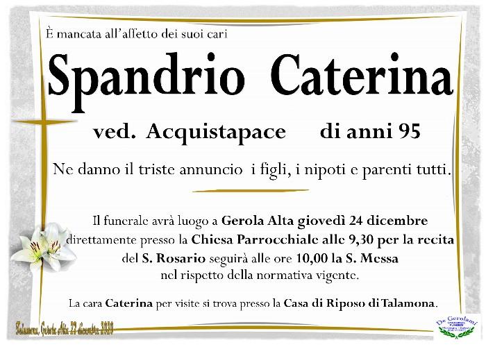Spandrio Caterina: Immagine Elenchi