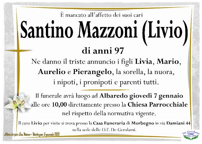 """Mazzoni Santino """" Livio"""": Immagine Elenchi"""
