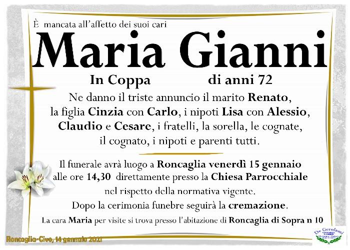 Gianni Maria: Immagine Elenchi
