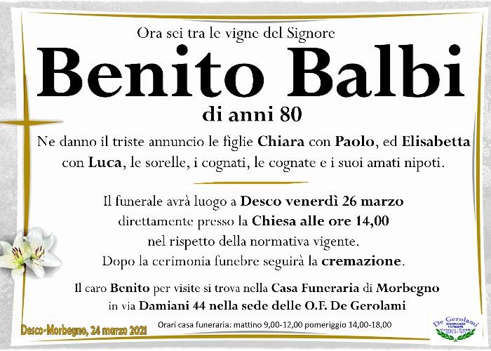 Balbi Benito: Immagine Elenchi