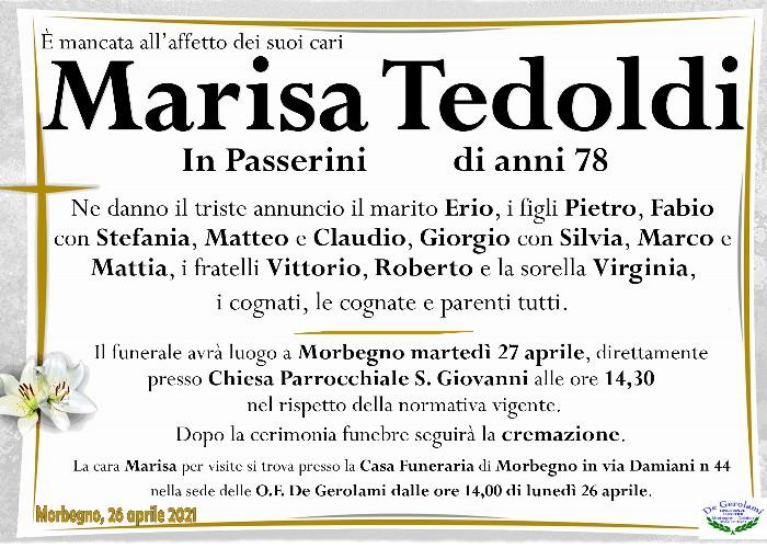 Tedoldi Maria Elisa: Immagine Elenchi